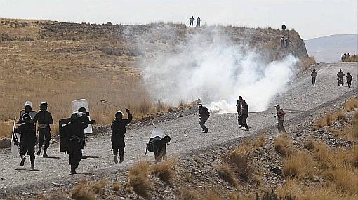 cusco, policia nacional, fuerzas armadas, espinar, majessiguas ii