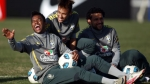 Robinho, Seleccin brasilea, Neymar