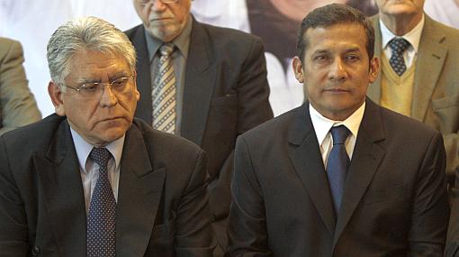 Ollanta Humala, Félix Jiménez, Gana Perú