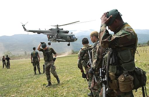 Fuerzas Armadas, VRAE, Narcotráfico