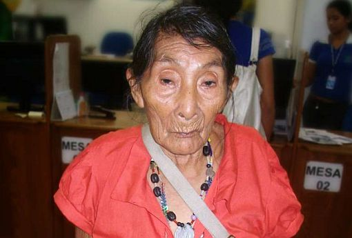 Mujer más vieja del mudo