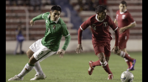 Peru vs Bolivia partido preparatorio  390427