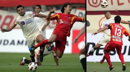 La 'U' venció 2-0 a D. Anzoátegui y jugará con Godoy Cruz en octavos