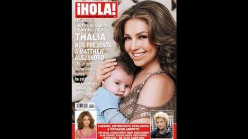 Cantante, Thalía