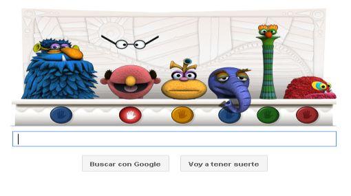 , Plaza Sésamo, Google, Doodle, Jim Henson