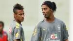 Ronaldinho, Selección brasileña, Selección argentina, Neymar, Amistosos Internacionales