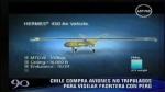 Chile compra naves robots para frontera - Noticias de compras belicas