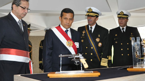 Ollanta Humala Tasso, Miguel Grau Seminario