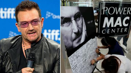 Apple, Música, U2,  Muerte de Steve JobsJobs