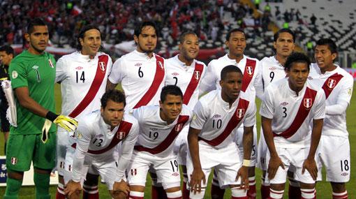 Brasil 2014, Selección chilena, Fútbol Internacional, Eliminatorias Brasil 2014, Selección peruana