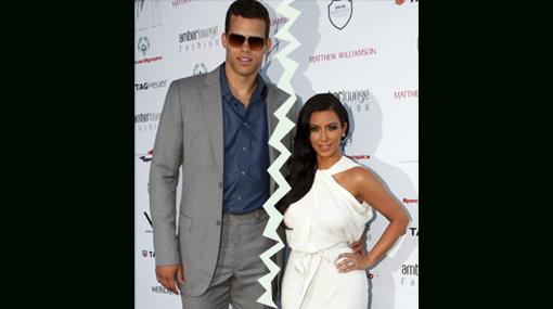 , Kim Kardashian, Kris Humphries, Separaciones en Hollywood, Separaciones de famosos