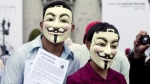 Internet, Pornografía infantil, Anonymous