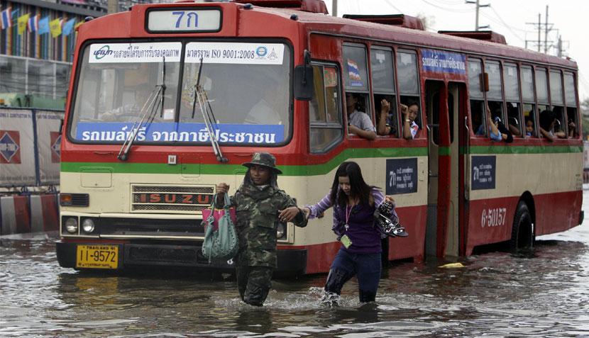 , Tailandia, Inundaciones en Tailandia,  Bangkok