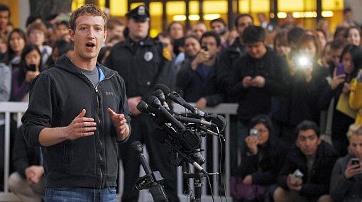 Facebook,  Mark ZuckerbergZuckerberg