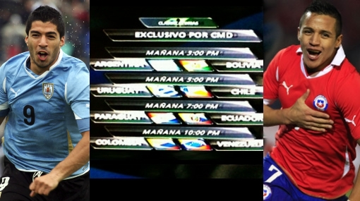 CMD, Movistar TV, Selección peruana, Eliminatorias Brasil 2014, Brasil 2014