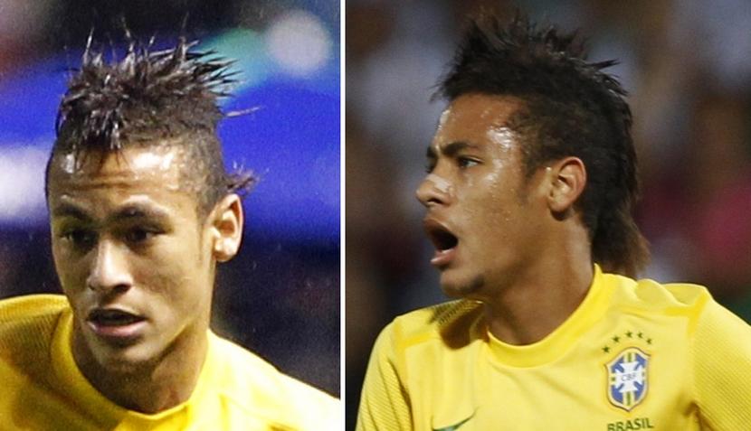 El Corte mohicano de Neymar