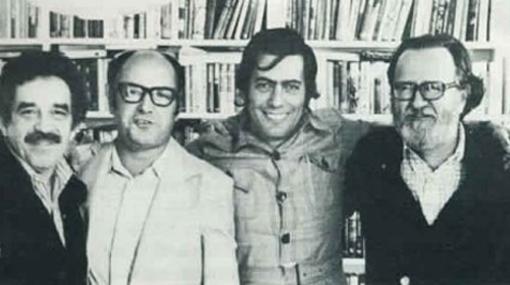 Llosa, Gabriel García Márquez, Isabel Allende, Pablo Neruda, Carmen Balcells, Mario Vargas, Juan Carlos Onetti