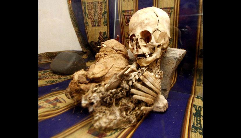 La momia extraterrestre