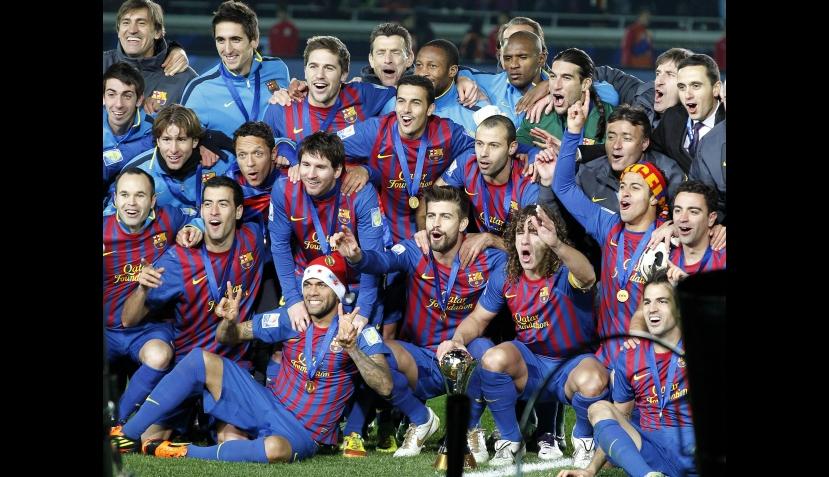 El Barcelona goleó 4-0 al Santos y ganó el Mundial de Clubes por segunda vez 429623