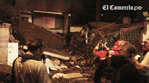 Municipalidad de Miraflores, Miraflores, Explosión, Explosión en Miraflores