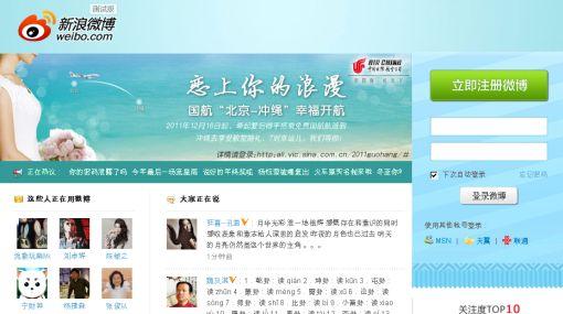 China, Internet, Weibo,  Microblog