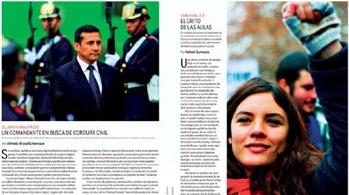 Ollanta Humala, , Camila Vallejo