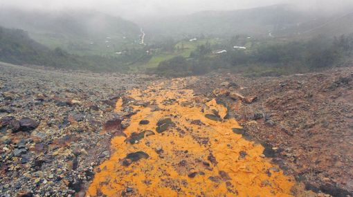 Minería, Cajamarca, Hualgayoc, Pasivos ambientales