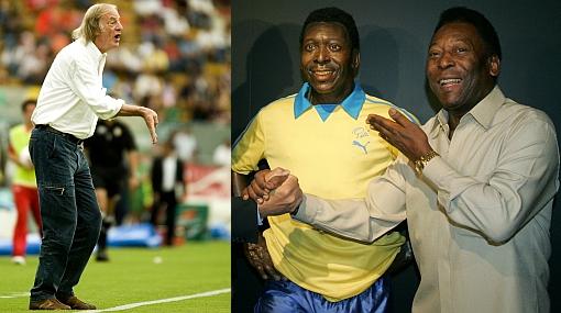 """Menotti: """"Pelé era una mezcla de Messi, Maradona, Cruy"""