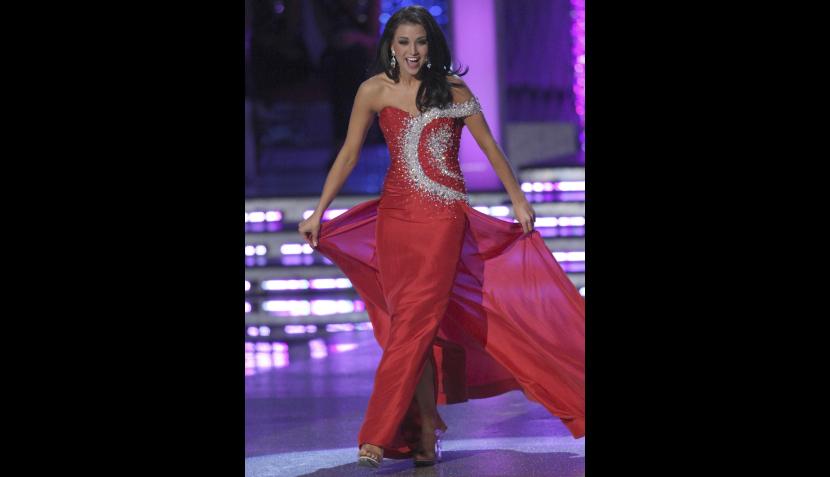 Belleza, Concursos de belleza, Televisión, Miss America 2012