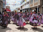Juliaca, Carnavales, morenada, Carnavald e Juliaca,  sayas