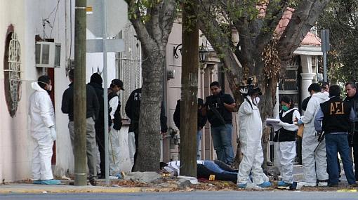Murieron acribilladas nueve personas en pleno centro de Monterrey 441006
