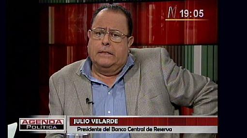 Banco Central de Reserva, Julio Velarde