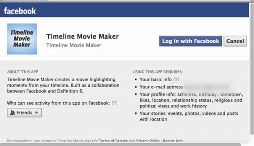 Redes sociales, Timeline, Facebook Timeline, Facebook, Timeline Movie Maker