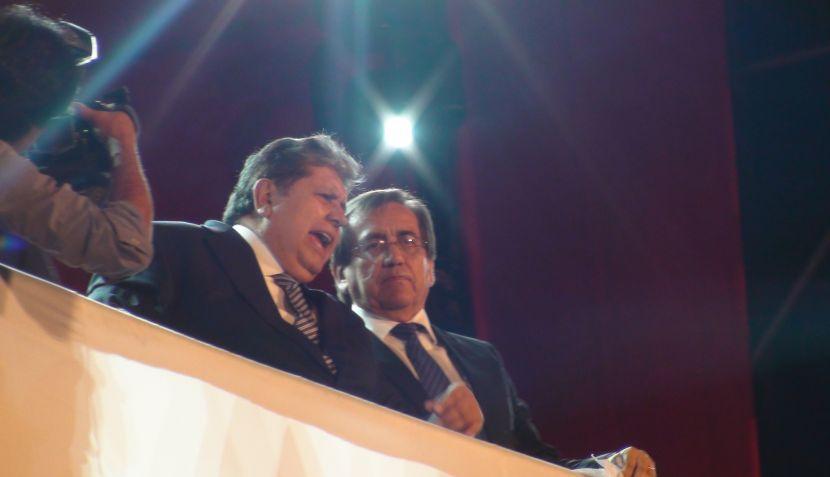 Alan García y Jorge del Castillo se reencontraron en mitin por el Día de la Fraternidad aprista 450030