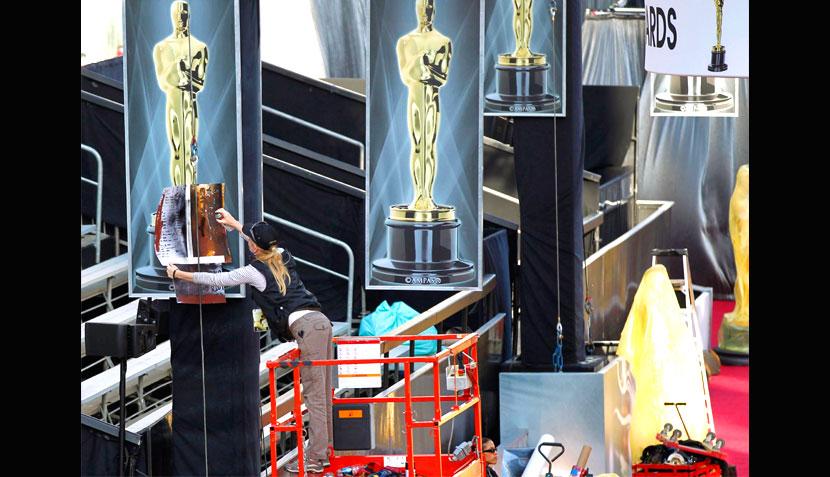 hasta Kermit y Miss Piggy ensayaron para un Óscar que va quedando listo 450279