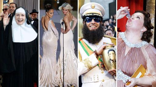 Oscar 2012, Premios Oscar 2012