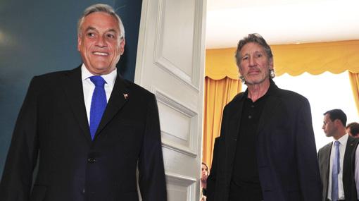 Sebastián Piñera, Roger Waters