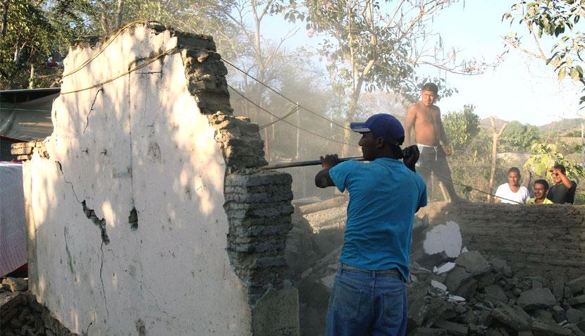 Terremoto en México, Galerías de fotos, México,  Ometepec