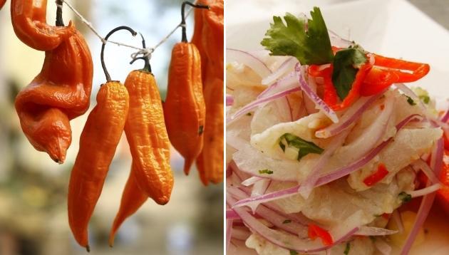 El ají, la insignia de la gastronomía peruana