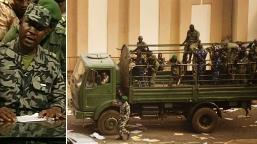 Mali, Golpes de Estado