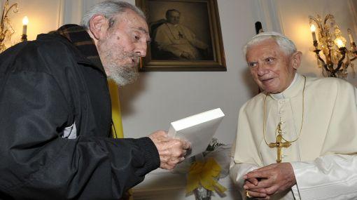 Fidel Castro, Benedicto XVI, Federico Lombardi