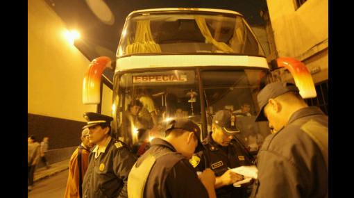 Policía Nacional del Perú, Arequipa, Asaltos en el Perú