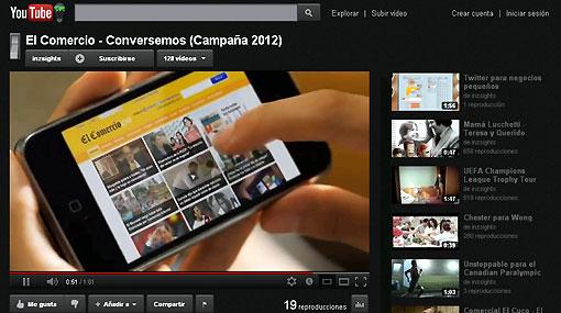 YouTube, La Hora del Planeta, Internet