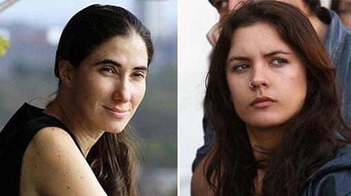 Yoani Sánchez, Camila Vallejo
