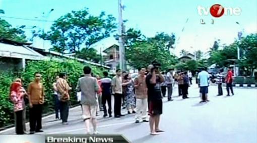 Indonesia, Isla de Sumatra, Terremoto en Indonesia