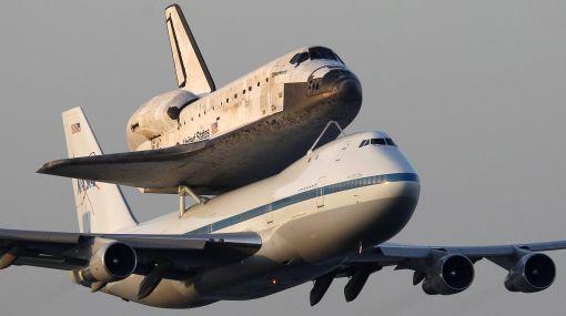 NASA, Astronomía, Discovery, Transbordadores,   Boeing 747,  Museo Nacional del Aire y del Espacio