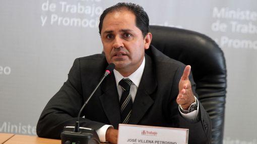 José Villena, Ministerio de Trabajo