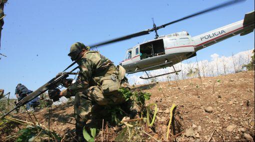 Policía Nacional, VRAE, Narcotráfico, Helicóptero