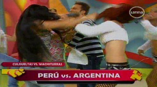 """Peluchi n se disculpó por pelea en set de""""Amor, amor,"""