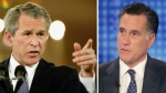 , George Bush, Mitt Romney
